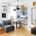 adelaparvu.com despre apartament de 2 camere, 50 mp, Polonia, designer Kamila Kuboth-Schuchardt, Foto Michał Mutor (2)
