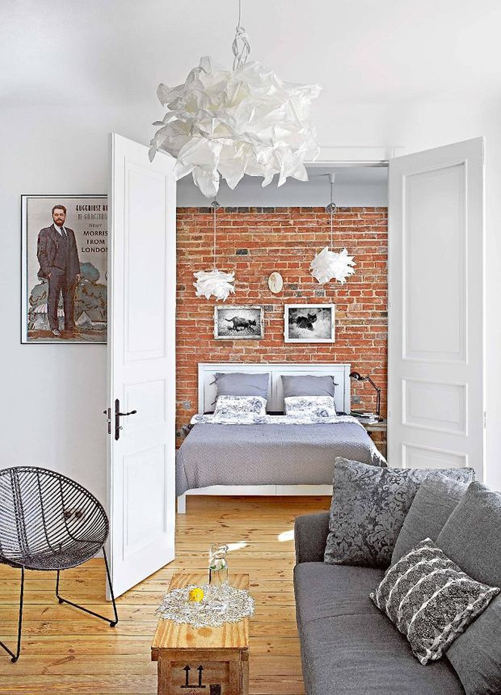 adelaparvu.com despre apartament de 2 camere, 50 mp, Polonia, designer Kamila Kuboth-Schuchardt, Foto Michał Mutor (8)
