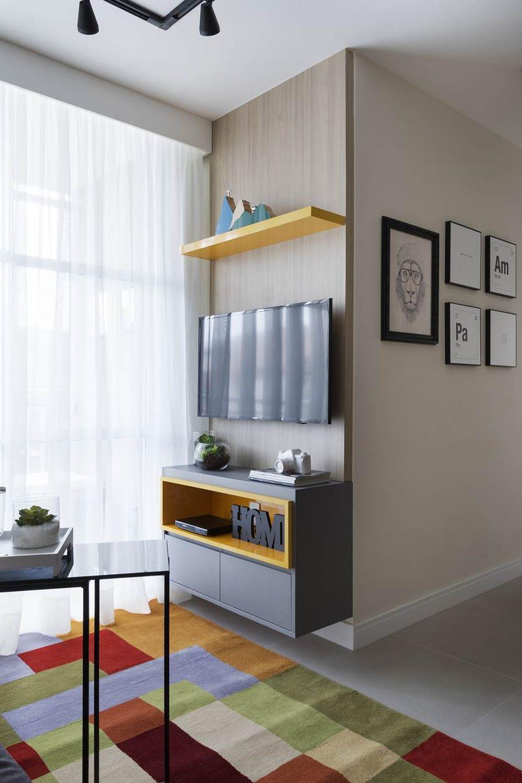 adelaparvu.com despre apartament de 59 mp, din 2 camere in 4, arhitect Andrea Pontes, Foto Rafael Renzo (10)