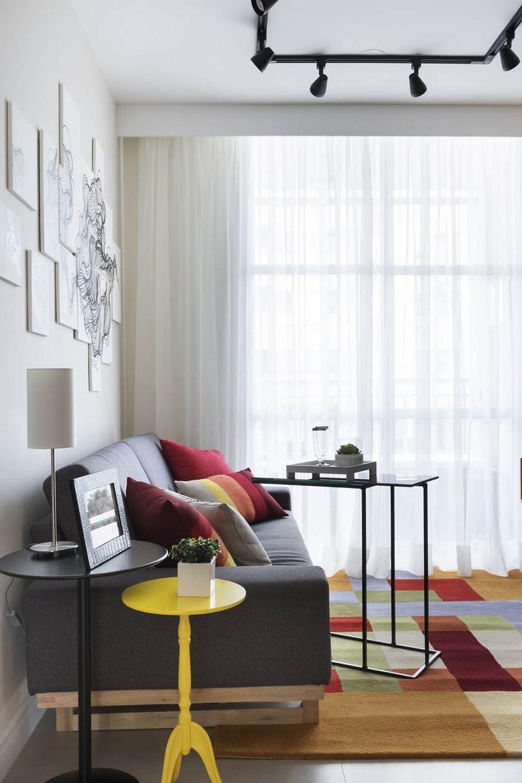 adelaparvu.com despre apartament de 59 mp, din 2 camere in 4, arhitect Andrea Pontes, Foto Rafael Renzo (11)