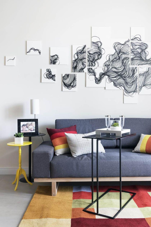 adelaparvu.com despre apartament de 59 mp, din 2 camere in 4, arhitect Andrea Pontes, Foto Rafael Renzo (9)