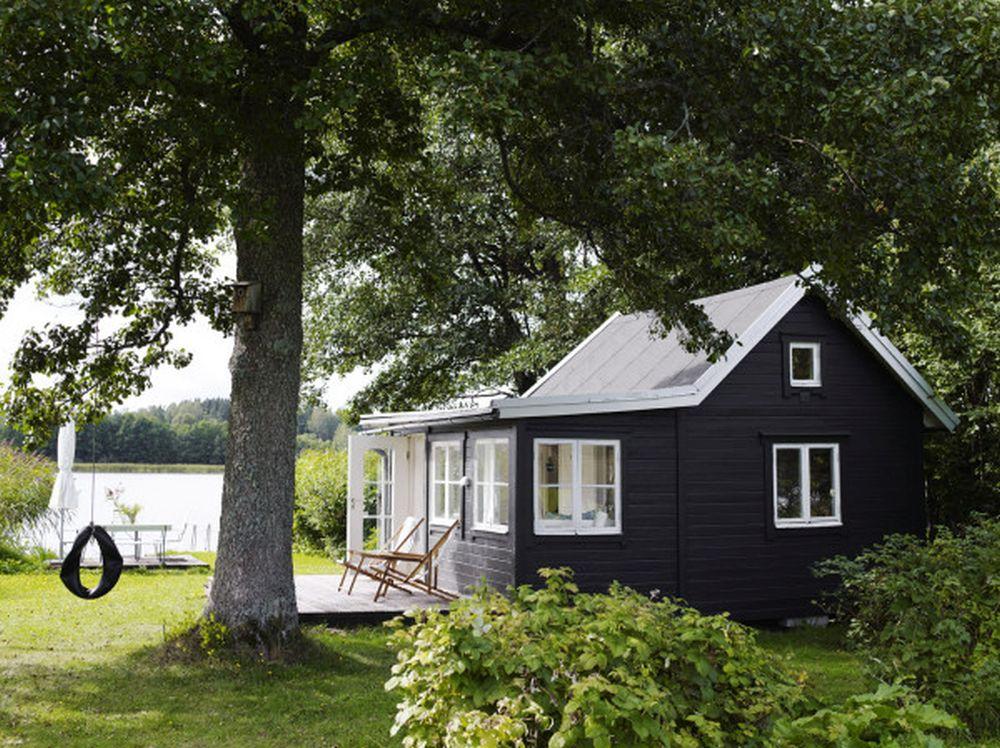 adelaparvu.com despre casa de vacanta din lemn, 25 mp, Suedia, Foto Anna Kern (11)