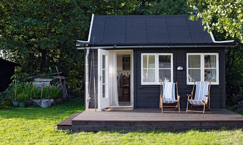 adelaparvu.com despre casa de vacanta din lemn, 25 mp, Suedia, Foto Anna Kern (3)