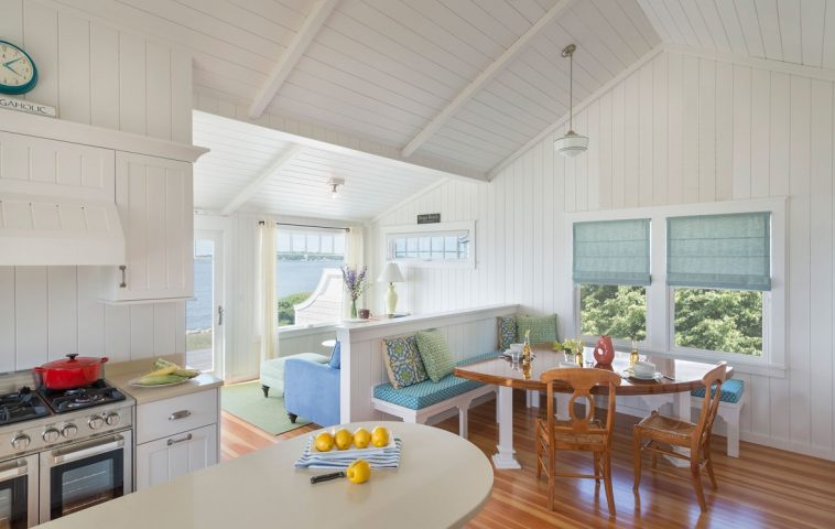 adelaparvu.com despre casa de vacanta la mare, SUA, arhitectura Dimauro Architects, Foto Nat Rea Photography (3)