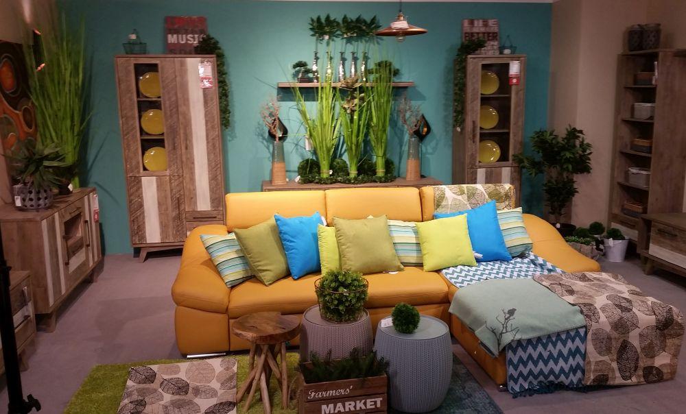 adelaparvu.com despre decorarea livingului, ambient in stil natural Kika