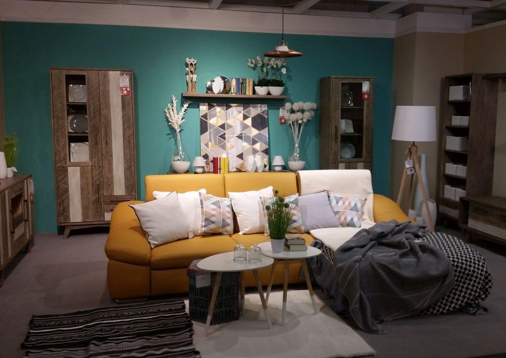 adelaparvu.com despre decorarea livingului, ambient in stil nordic Kika