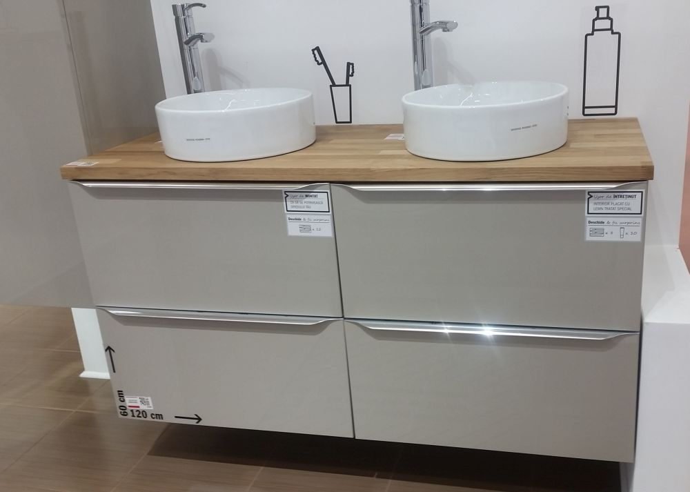 adelaparvu.com despre mobila de baie la Brico Depot, gama Imandra (10)