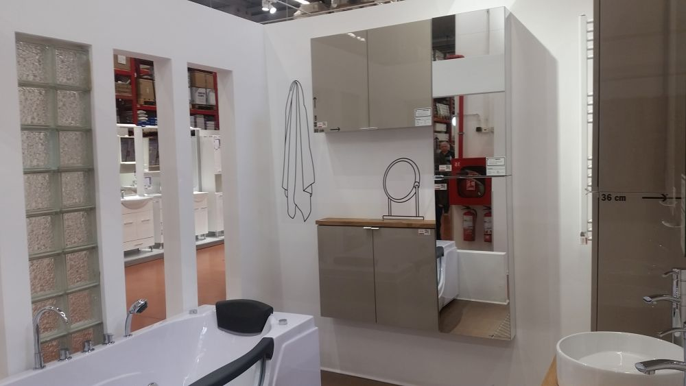 adelaparvu.com despre mobila de baie la Brico Depot, gama Imandra (12)