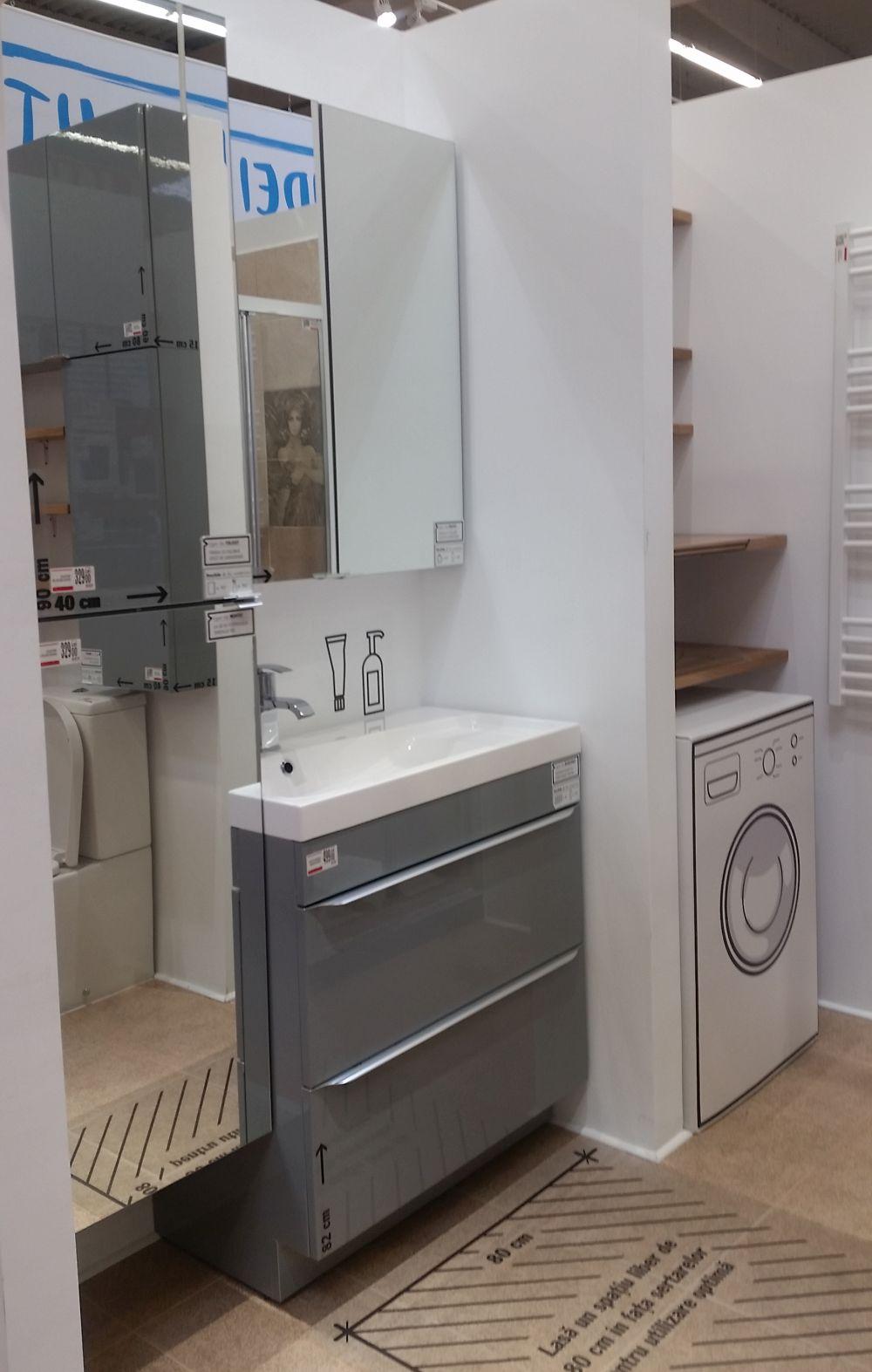 adelaparvu.com despre mobila de baie la Brico Depot, gama Imandra (5)