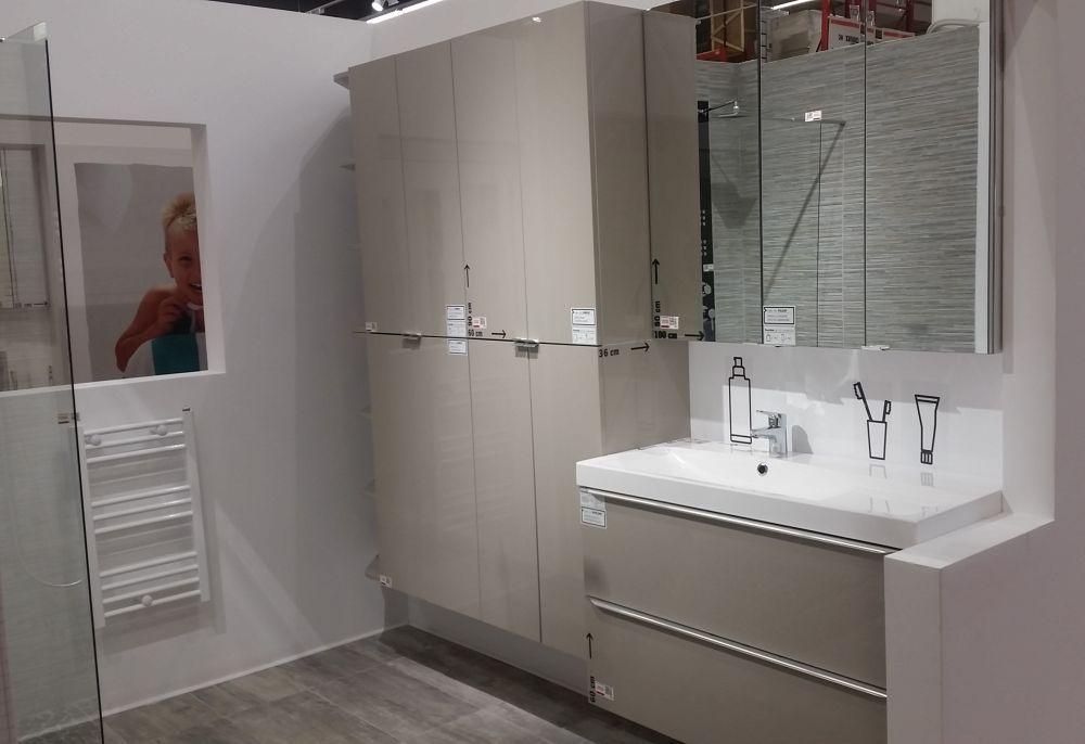 adelaparvu.com despre mobila de baie la Brico Depot, gama Imandra (7)