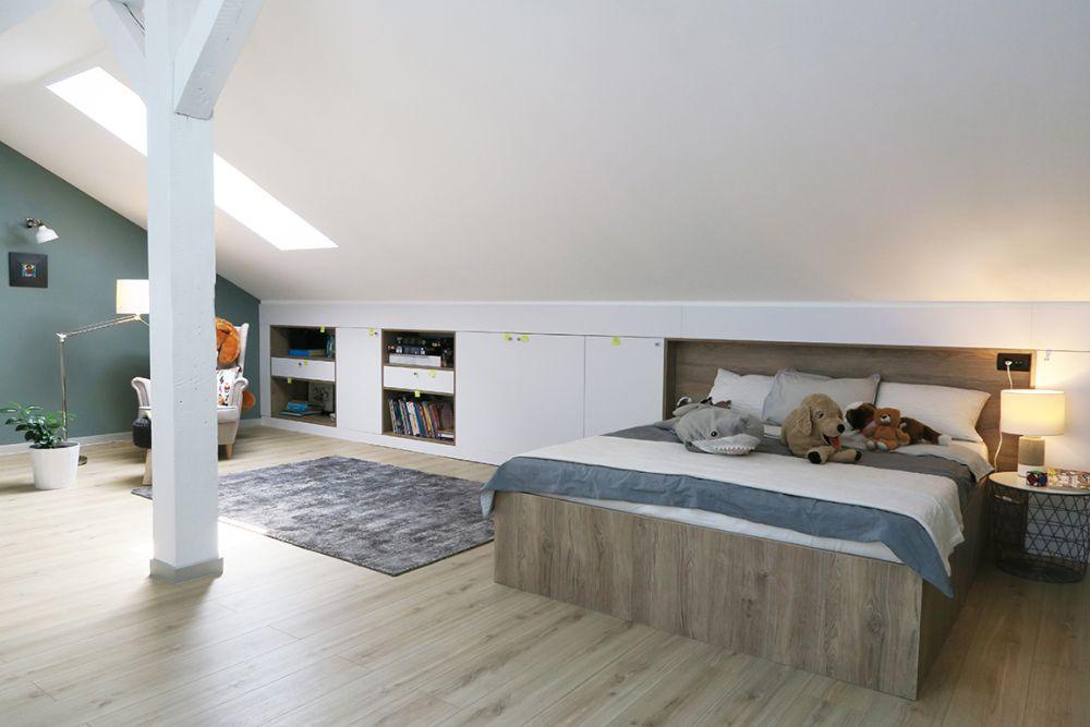 adelaparvu.com despre reamenajare mansarda 55 mp, Bucuresti, design arh. Alina Vilcu, Pianoterra (13)
