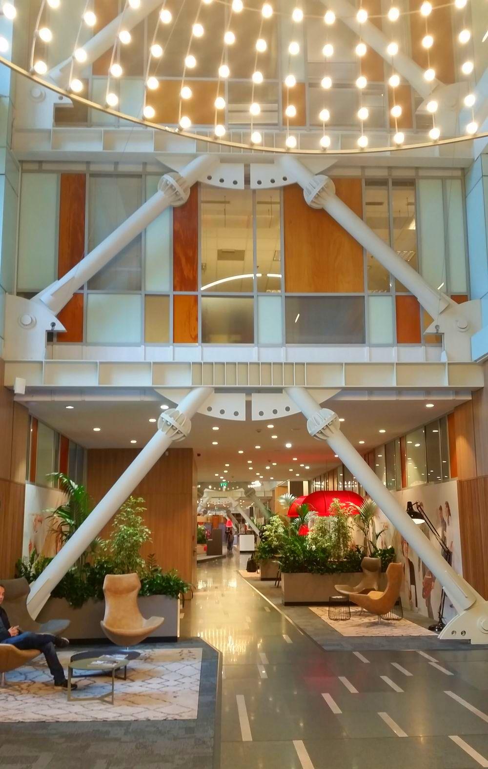 adelaparvu.com despre MyHive, cladirile de birouri S-Park, Bucuresti (3)