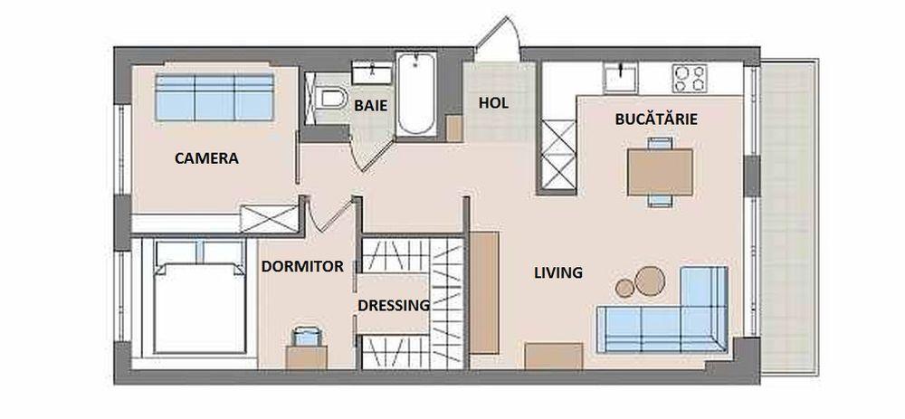 adelaparvu.com despre amenajare apartament 55 mp, Polonia, Design Anna Jablonska, Anomin Project Foto Mariusz Purta (14)