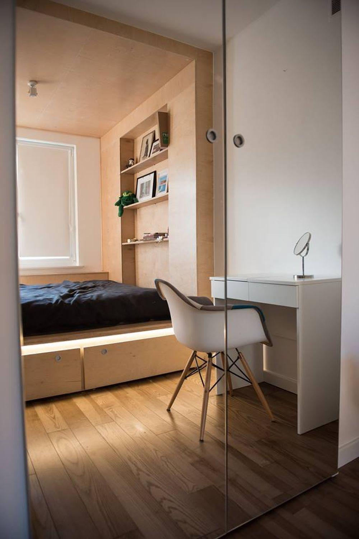 adelaparvu.com despre amenajare apartament 55 mp, Polonia, Design Anna Jablonska, Anomin Project Foto Mariusz Purta (2)