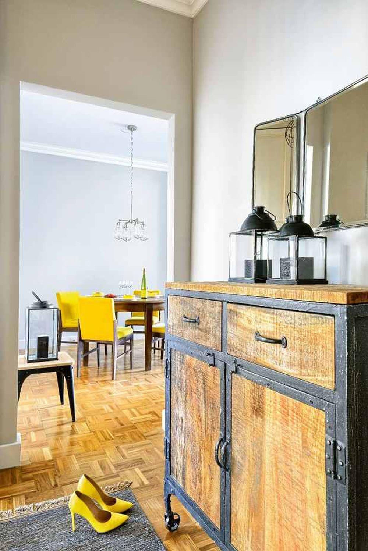 adelaparvu.com despre apartament cu accente de galben, designer Macieja Kocoja, Foto Mariusz Purta (1)