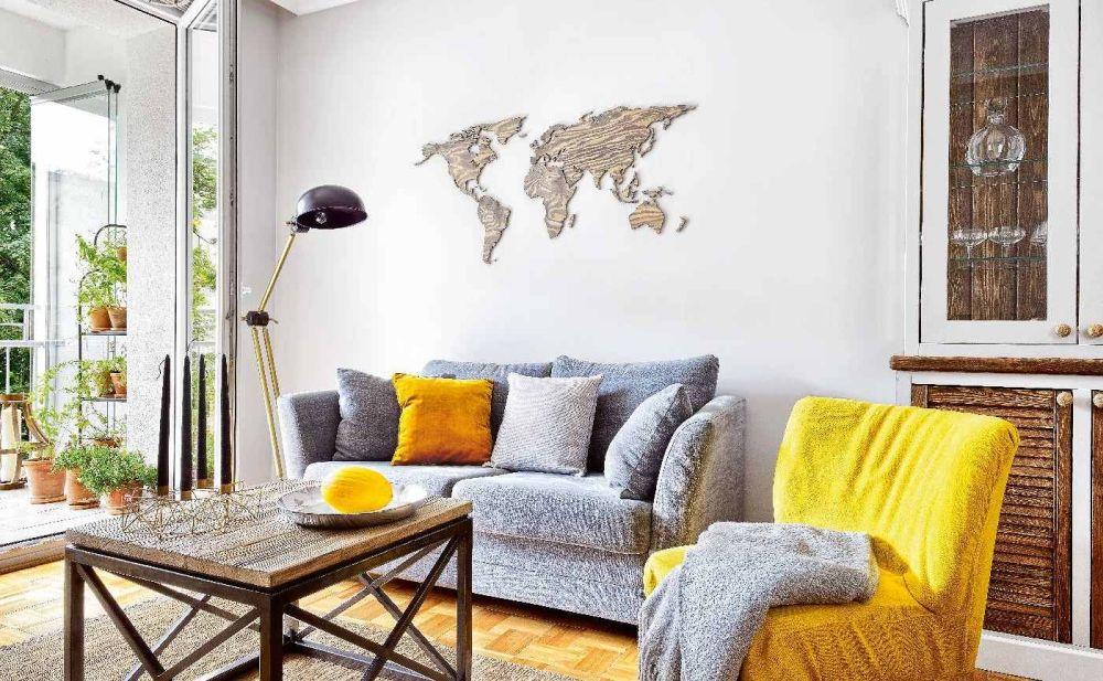 adelaparvu.com despre apartament cu accente de galben, designer Macieja Kocoja, Foto Mariusz Purta (3)