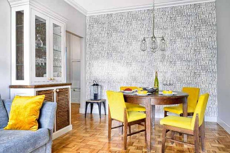 adelaparvu.com despre apartament cu accente de galben, designer Macieja Kocoja, Foto Mariusz Purta (4)
