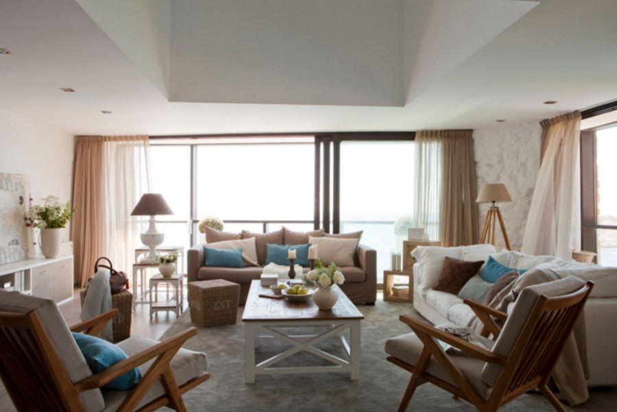 adelaparvu.com despre apartament duplex cu vedere la mare, Costa Brava, designer Pia Capdevila (1)