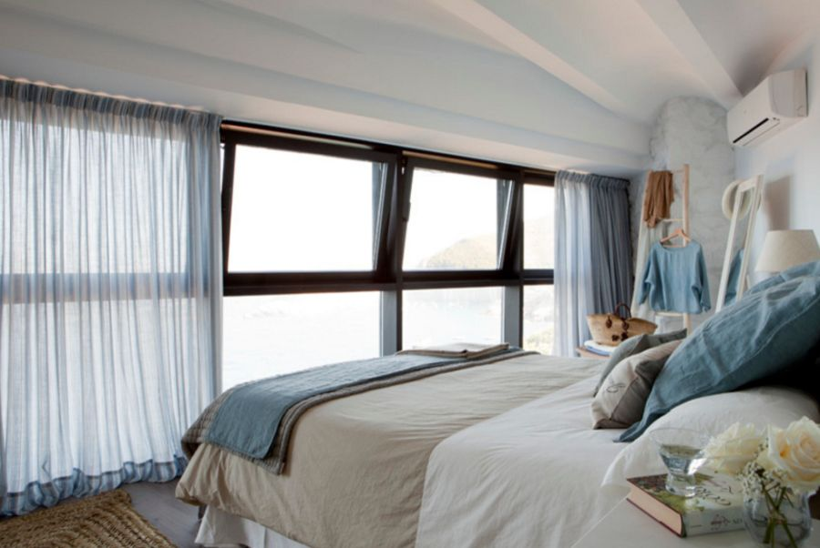 adelaparvu.com despre apartament duplex cu vedere la mare, Costa Brava, designer Pia Capdevila (12)
