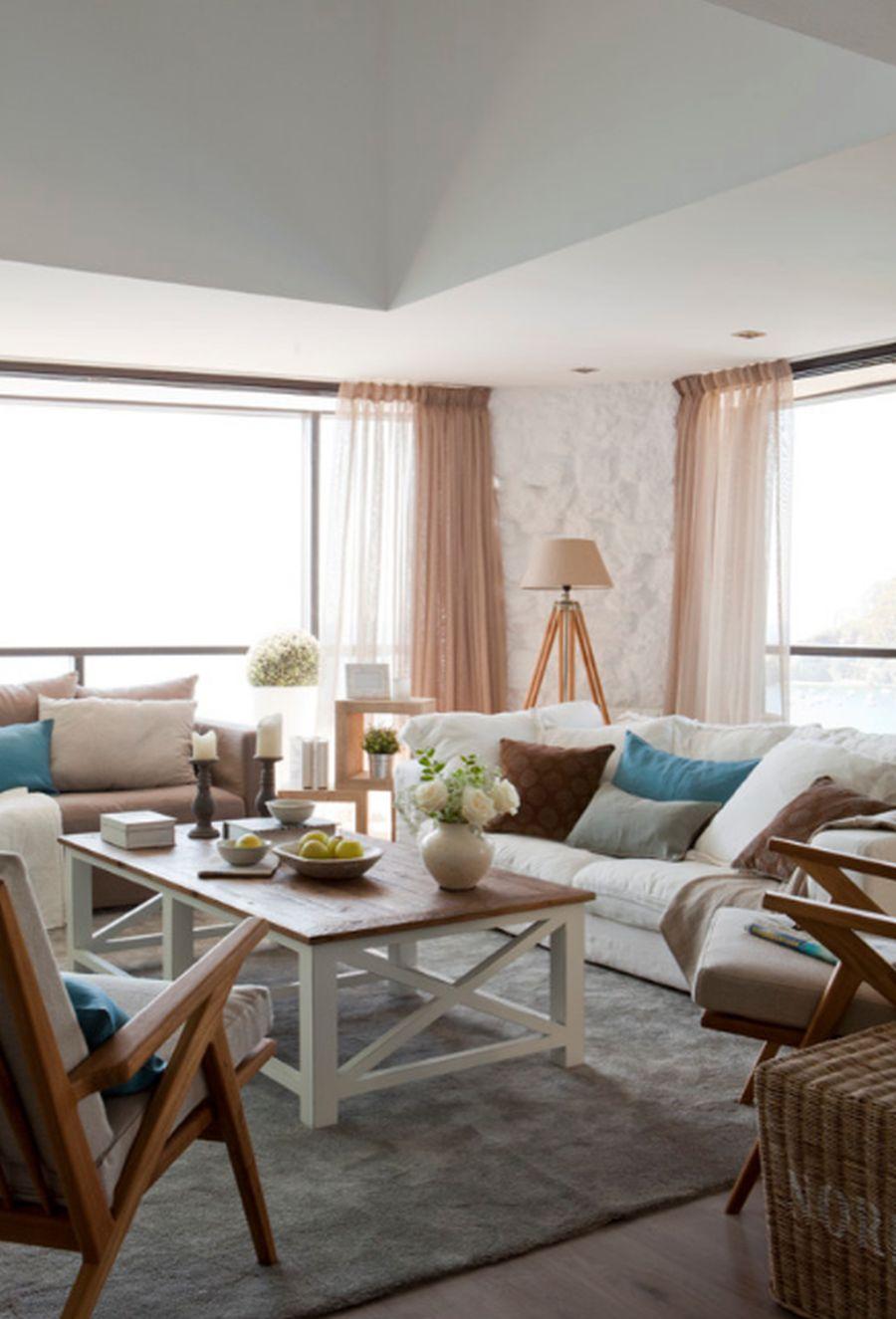 adelaparvu.com despre apartament duplex cu vedere la mare, Costa Brava, designer Pia Capdevila (2)