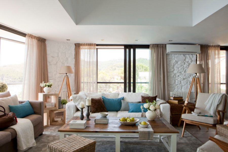 adelaparvu.com despre apartament duplex cu vedere la mare, Costa Brava, designer Pia Capdevila (3)