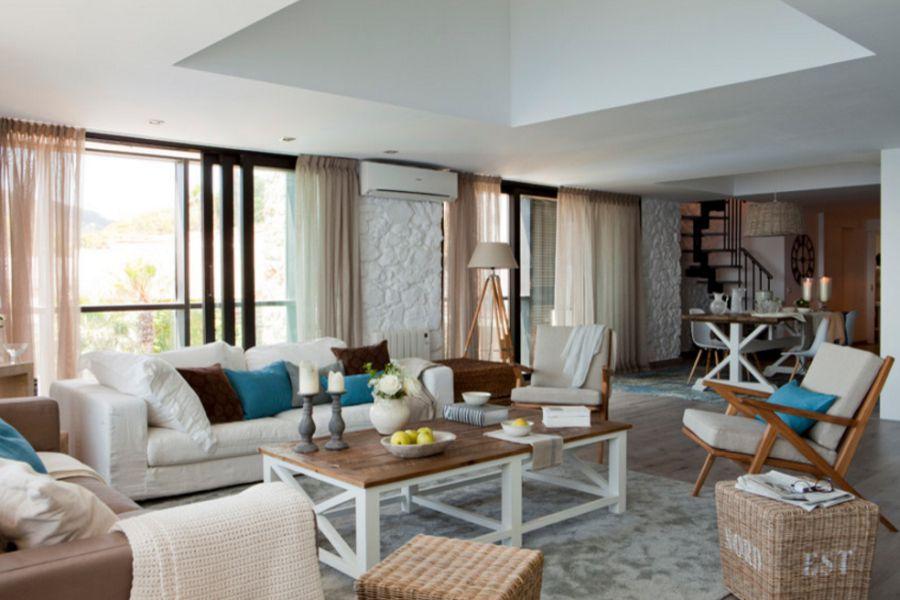 adelaparvu.com despre apartament duplex cu vedere la mare, Costa Brava, designer Pia Capdevila (6)