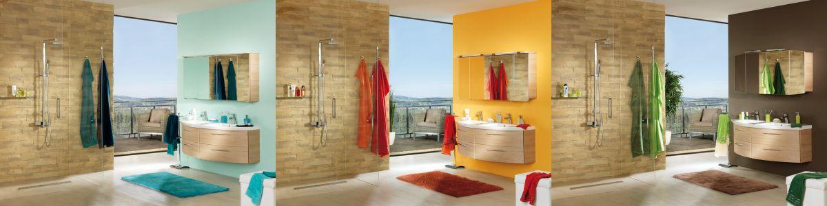 adelaparvu.com despre decorarea camerei de baie, 3 culori, Foto Kika