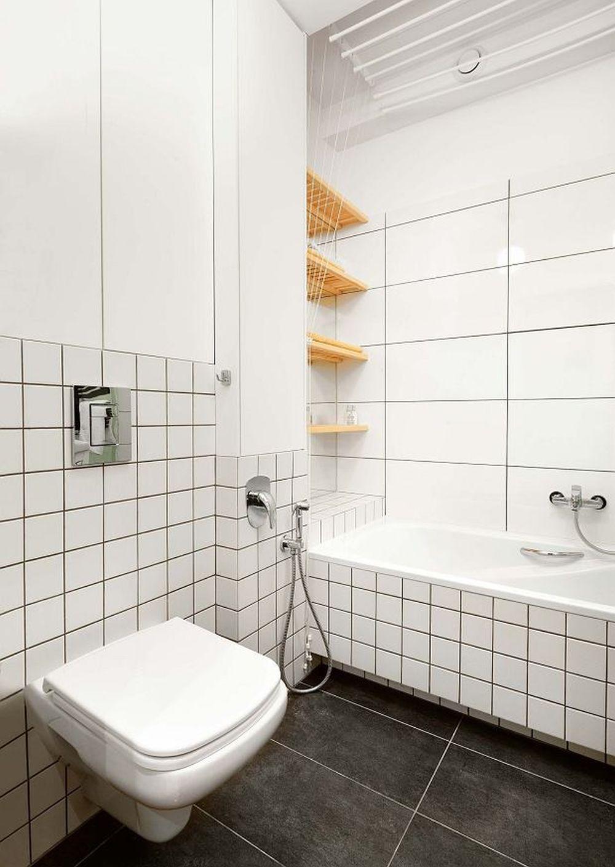adelaparvu.com despre garsoniera 37 mp cu 4 locuri de dormit, Varsovia, design KlamaStudio, Foto Monika Filipiuk-Obalek (1)