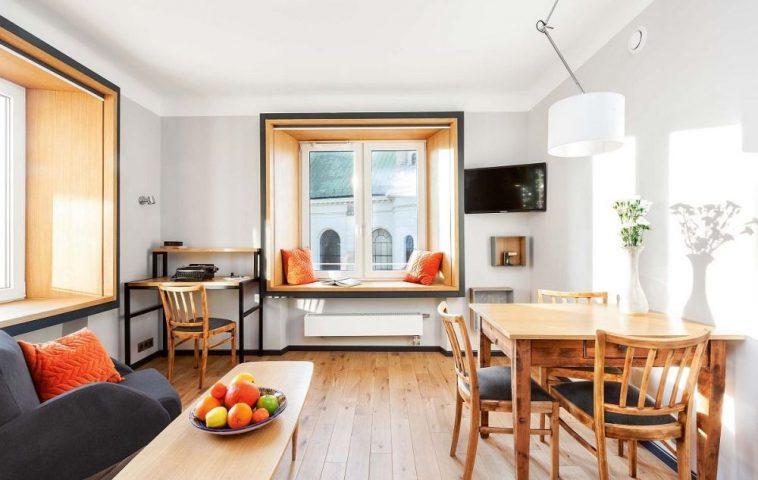 adelaparvu.com despre garsoniera 37 mp cu 4 locuri de dormit, Varsovia, design KlamaStudio, Foto Monika Filipiuk-Obalek (6)