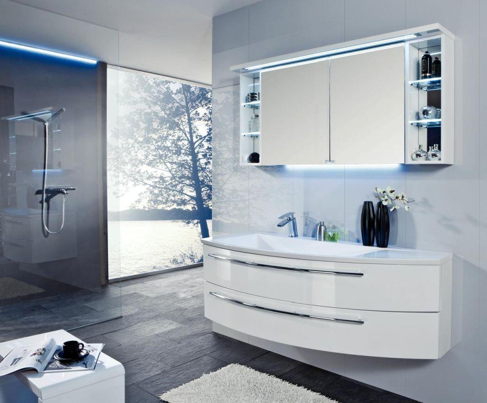 Model mobilă de baie Crescendo disponibilă prin Kika