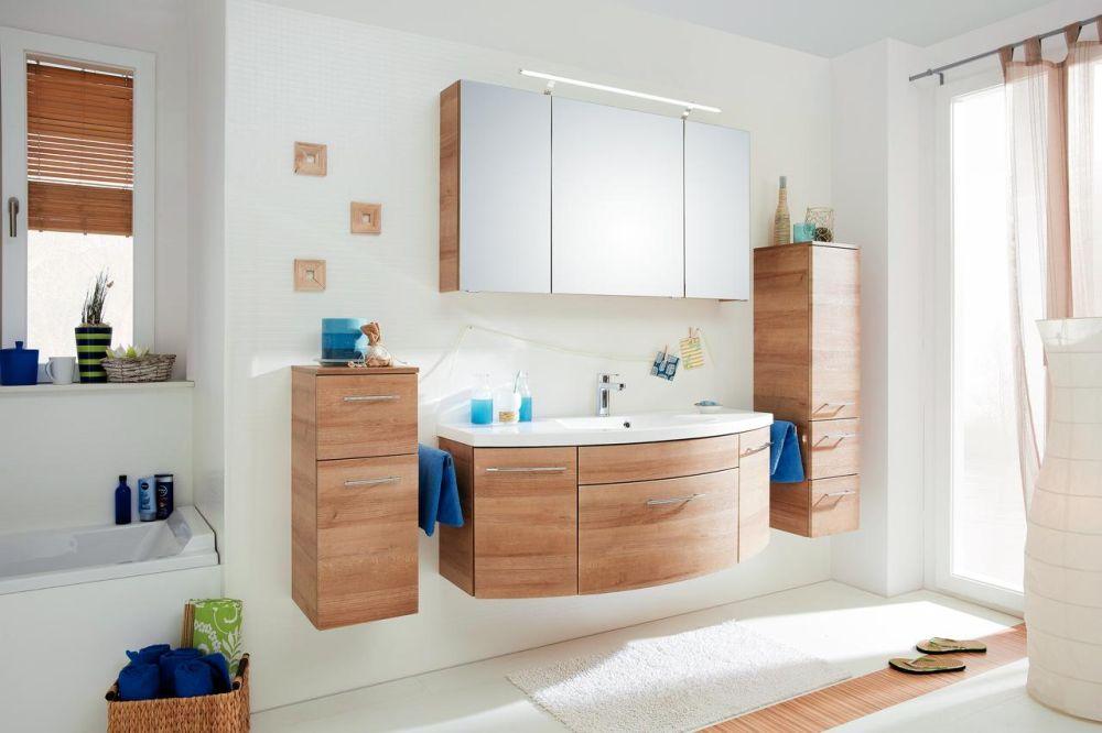 Mobilier de baie model Viato, disponibil la comandă prin Kika