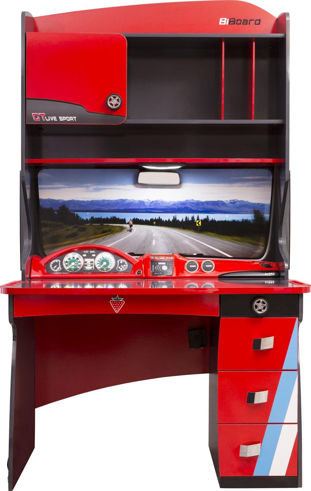 Mobilă de birou Champion Racer, vezi detalii și preț AICI