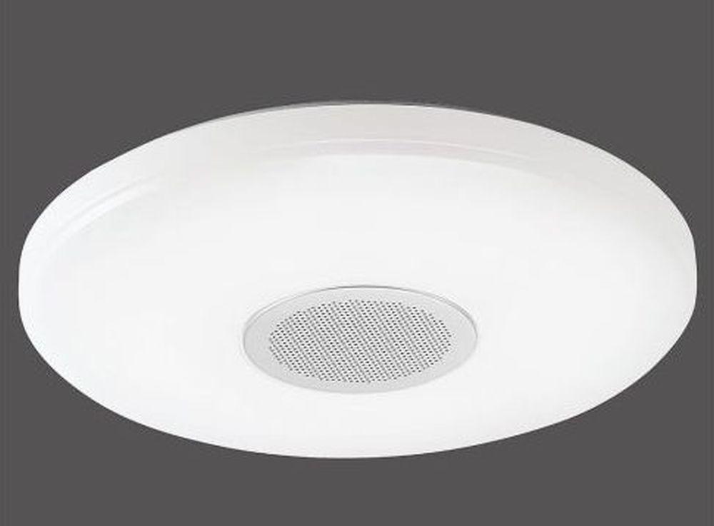 Plafonieră pentru baie cu difuzor audio, model Pelvo prin Kika