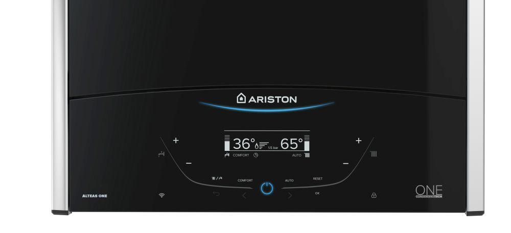 adelaparvu.com despre Ariston Alteas ONE, centrala termica controlata prin aplicatie pe mobil (2)