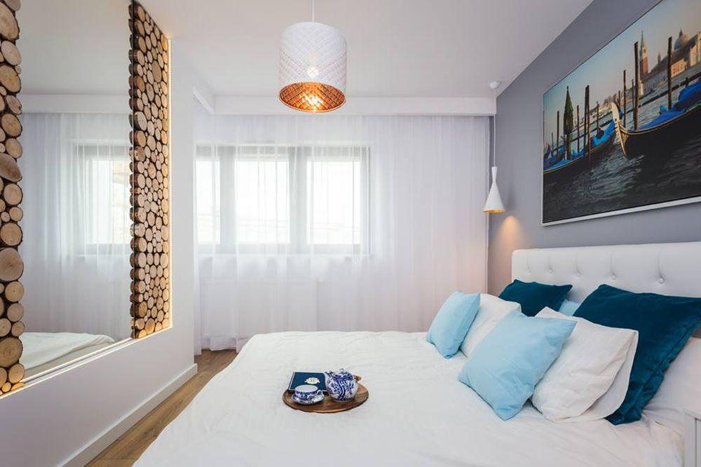 adelaparvu.com despre apartament 55 mp cu loc tv in centrul livingului, Design interior Justyna Lewicka Design (10)