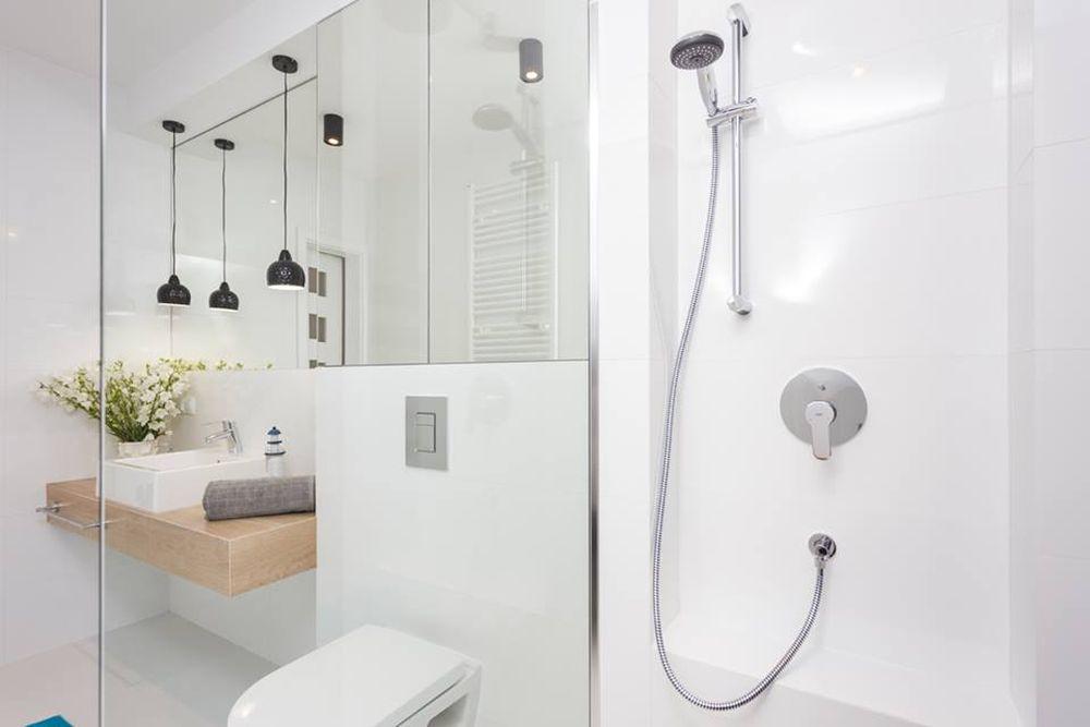 adelaparvu.com despre apartament 55 mp cu loc tv in centrul livingului, Design interior Justyna Lewicka Design (9)