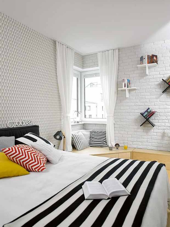 adelaparvu.com despre apartament 62 mp situat pe nord, design Devangari Design (10)