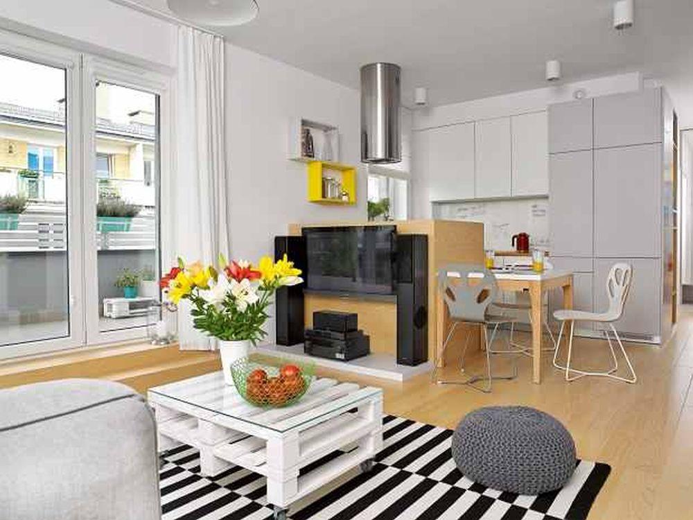 adelaparvu.com despre apartament 62 mp situat pe nord, design Devangari Design (11)