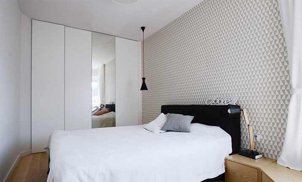 adelaparvu.com despre apartament 62 mp situat pe nord, design Devangari Design (2)