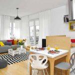 adelaparvu.com despre apartament 62 mp situat pe nord, design Devangari Design (4)