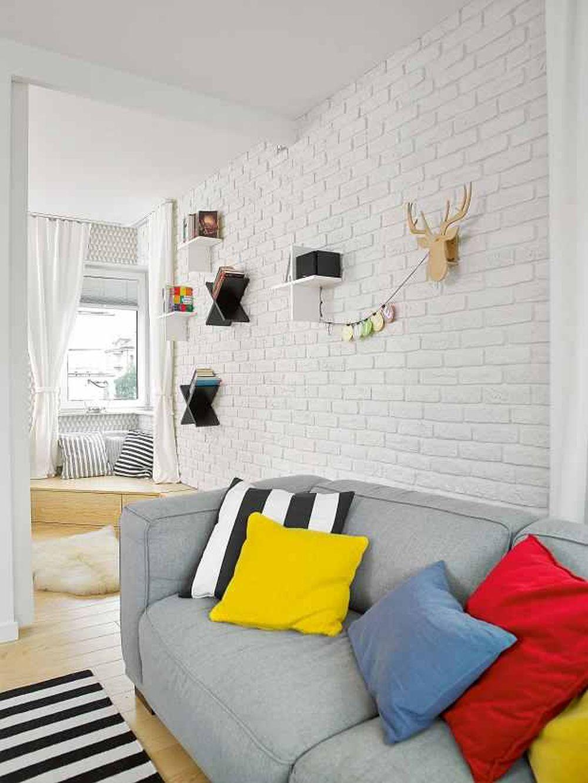 adelaparvu.com despre apartament 62 mp situat pe nord, design Devangari Design (5)