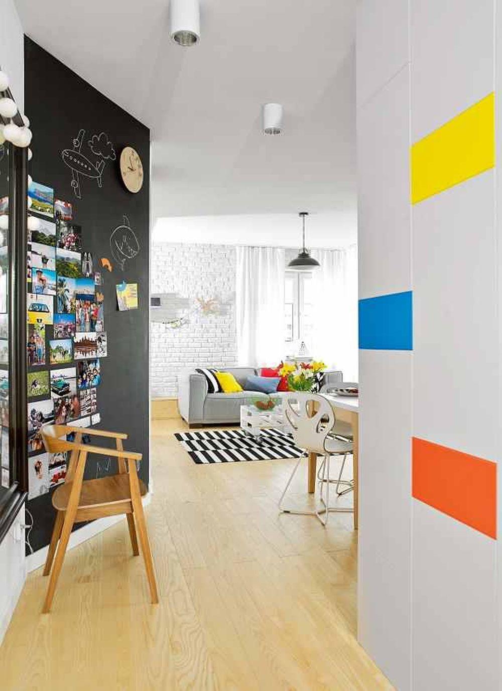 adelaparvu.com despre apartament 62 mp situat pe nord, design Devangari Design (7)