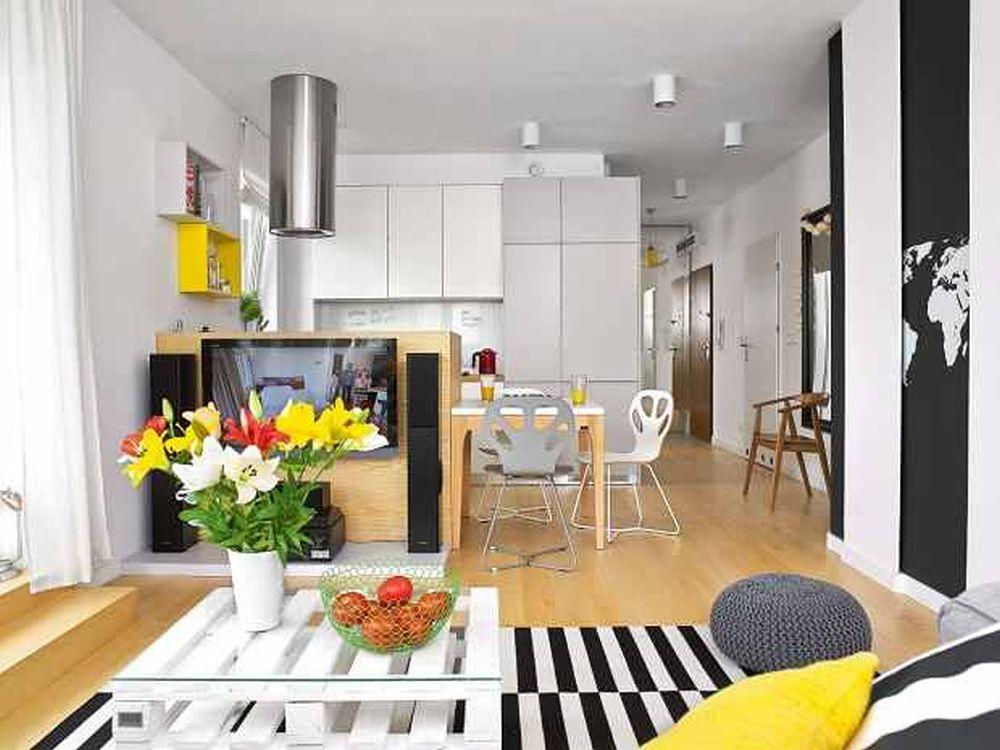 adelaparvu.com despre apartament 62 mp situat pe nord, design Devangari Design (8)