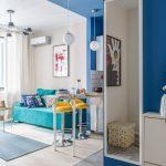 adelaparvu.com despre apartament de 2 camere in 40 mp, design Marina Novikova si Olga Ljubis, Foto Mikhail Loskutov (1)