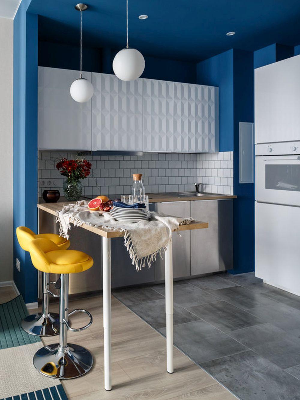 adelaparvu.com despre apartament de 2 camere in 40 mp, design Marina Novikova si Olga Ljubis, Foto Mikhail Loskutov (10)