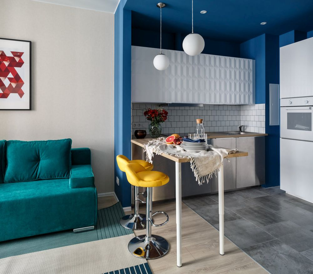 adelaparvu.com despre apartament de 2 camere in 40 mp, design Marina Novikova si Olga Ljubis, Foto Mikhail Loskutov (11)