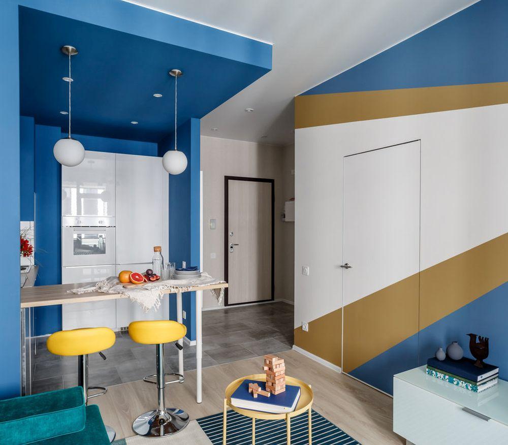 adelaparvu.com despre apartament de 2 camere in 40 mp, design Marina Novikova si Olga Ljubis, Foto Mikhail Loskutov (13)