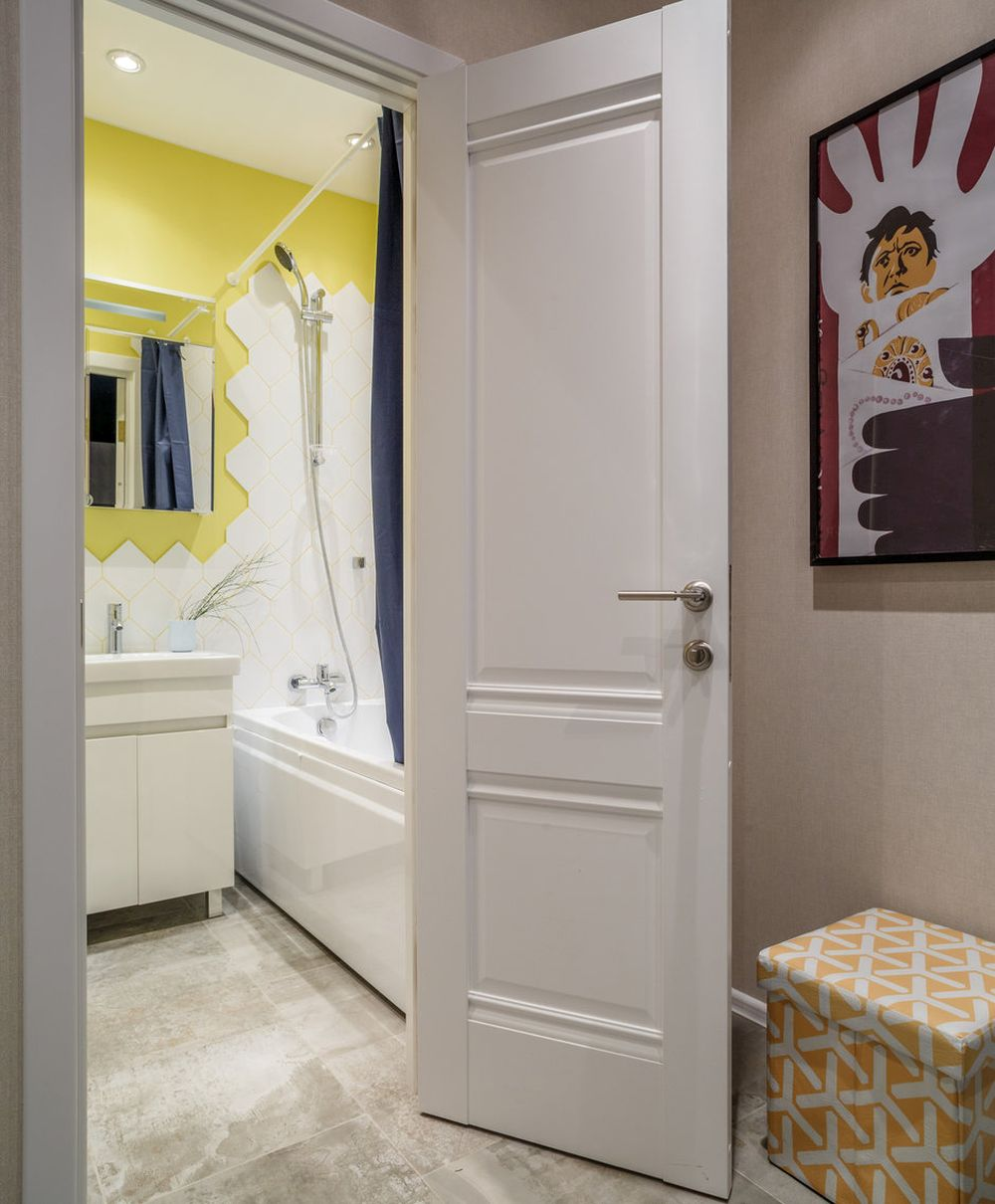 adelaparvu.com despre apartament de 2 camere in 40 mp, design Marina Novikova si Olga Ljubis, Foto Mikhail Loskutov (15)