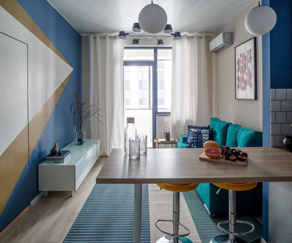 adelaparvu.com despre apartament de 2 camere in 40 mp, design Marina Novikova si Olga Ljubis, Foto Mikhail Loskutov (4)