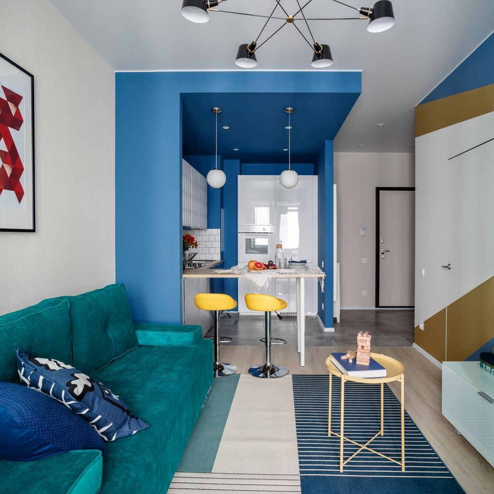 adelaparvu.com despre apartament de 2 camere in 40 mp, design Marina Novikova si Olga Ljubis, Foto Mikhail Loskutov (6)